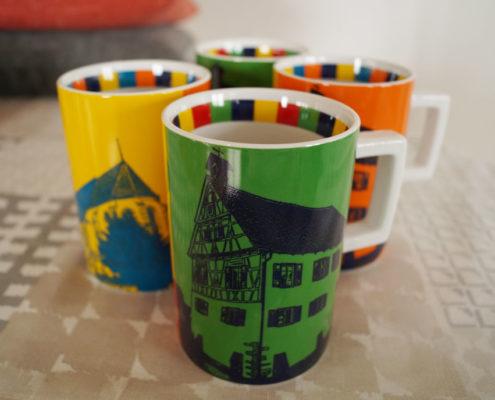 Holzgerlingen-Tasse – Bunte Keramiktassen mit Bildmotiven aus Holzgerlingen