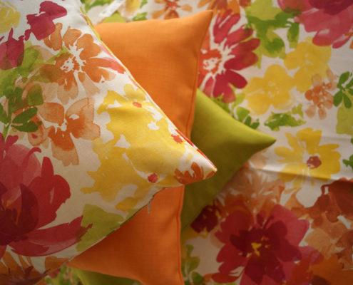 Kissen und Decken - auch maßgefertigt